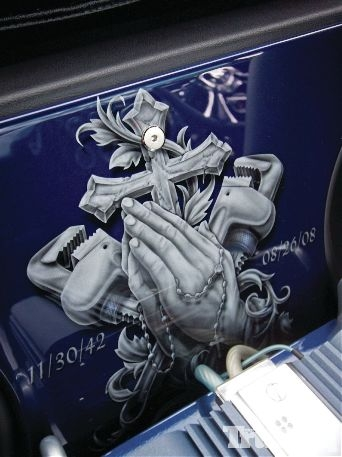 Airbrush on Truck