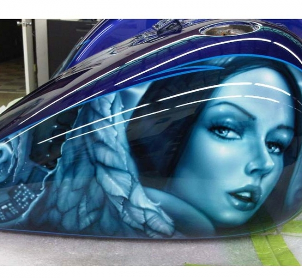 Hypnotic Airbrush,custom paint,phoeinx,airbrush,matt andrews | Hypnotic Air