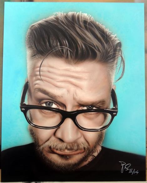 Furious #Airbrush #RSS #Feeds | Competition results of our selfie contest