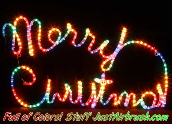 Merry Christmas from the Staff of JustAirbrush.com - Thank you for all and compliments to ALL the Artists of our wonderfull Community!