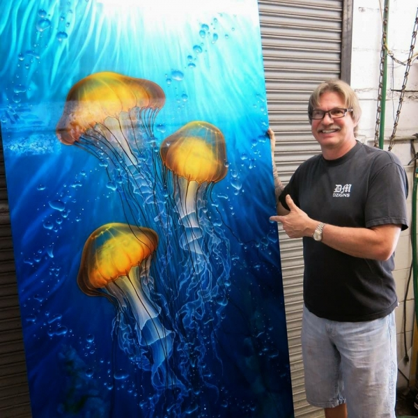 #FuriousAirbrush #RSS Feeds | Hawaii's Premier metal artist releases a series of VERY large originals on ground metal. - FuriousAirbrush RSS Stories