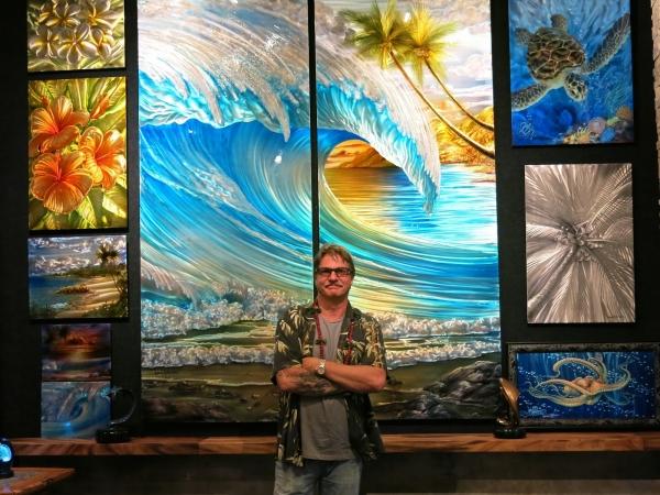 Furious #Airbrush #RSS Feeds | New Dennis Mathewson Hawaii's metal artist artwork location on north shore Oahu, Hawaii