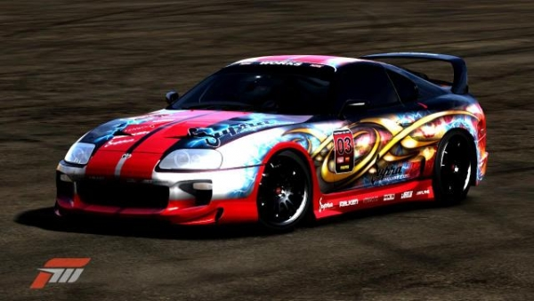 Toyota Supra Airbrush project!