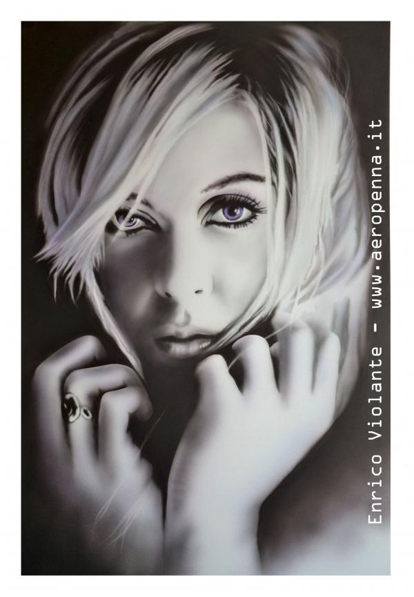 monochrome portrait on schoeller cm. 40x60
