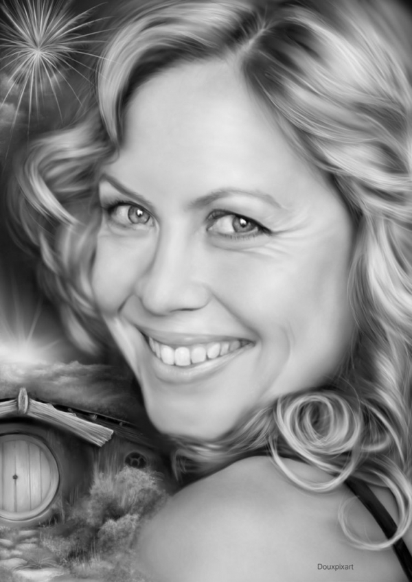 The Lord of the Rings: Rosie by Douxpixart - Airbrush Art