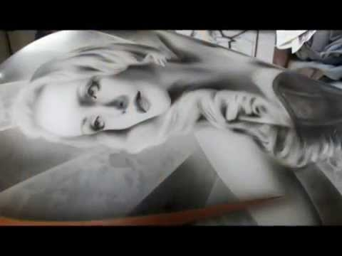 Learn to airbrush at the Airbrush Academy - Airbrush Videos