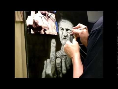 Black Widow Airbrush Art - Airbrush Videos