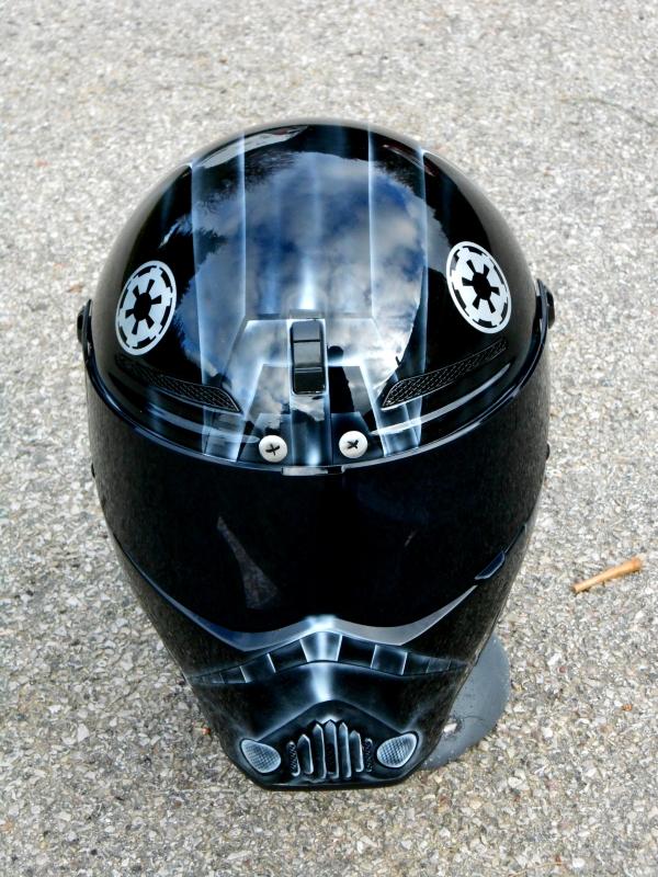 Starwars Tie fighter pilot helmet