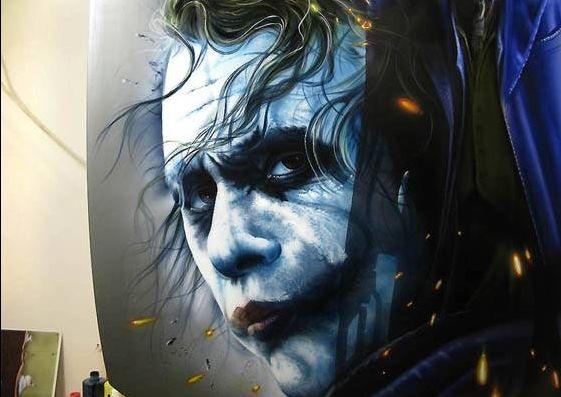 Stunning Joker - http://www.powerstudios.com.au - Comics