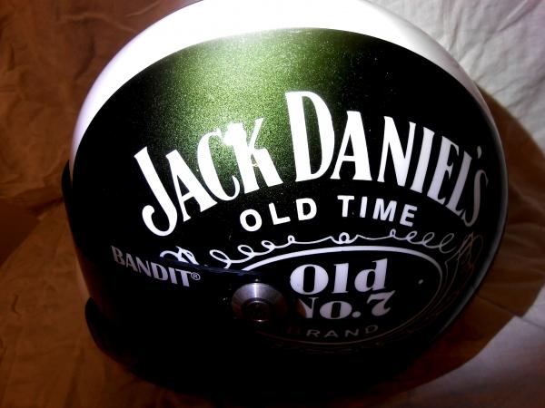 XXR helmet jack daniel's  green candy