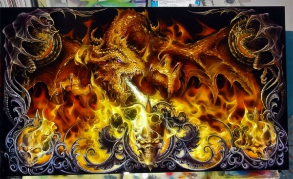 Awesome Airbrush Painting
