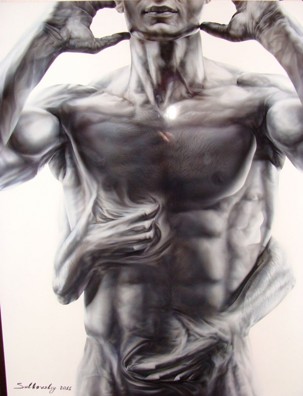 Airbrush Art from Alexey Sulkovskiy
