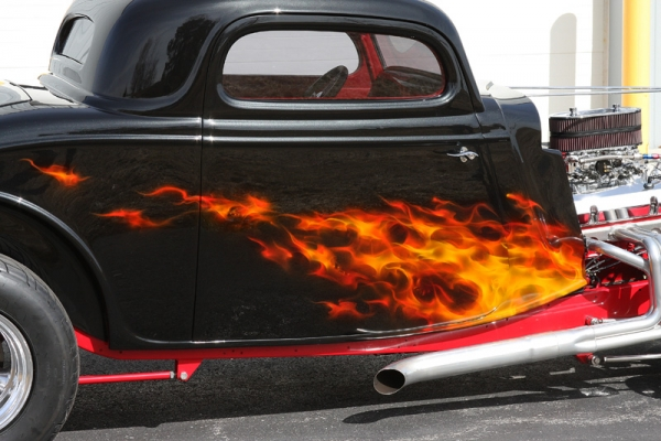 Real Fire Hot Rod – Custom Painted Vehicles