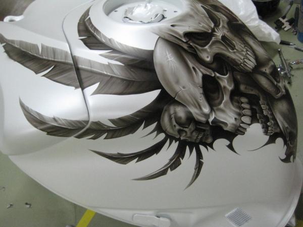 Akull gixxer tank by Jonny5nLala