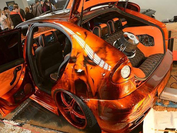 Cars - Crossover Airbrush. Bert Paintking Galster. Airbrush und Lackierungen für Auto, Motorrad und Trucks.