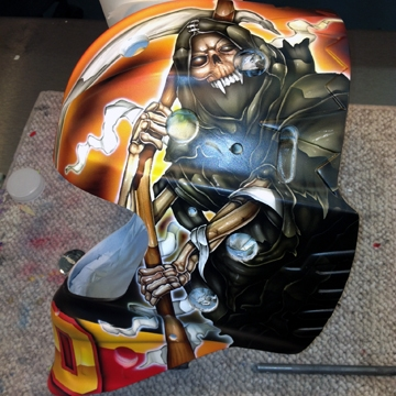 A New Mask for Malcolm - Boston Bruins - Features