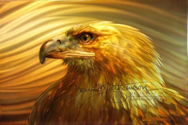 #Stunning #Mathewon! Desert Eagle - Dennis Mathewson Art