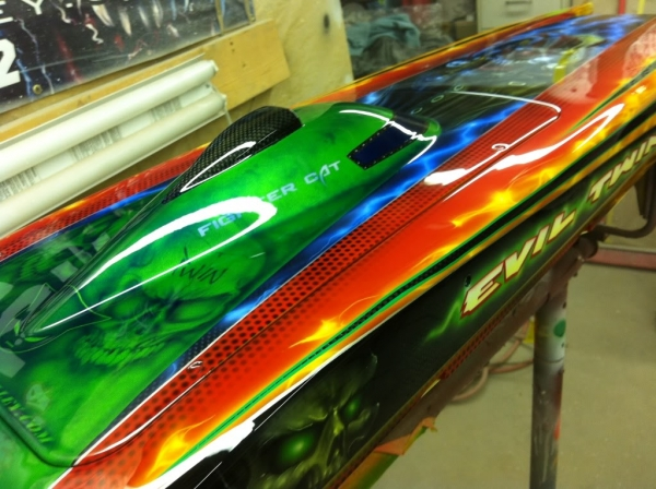 Keith Bradley Boats Forum • View topic - Custom Boat Paint by The Airbrush Alley