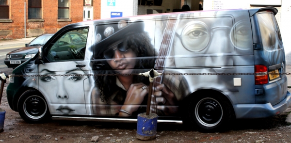 Professional Wall Murals, Airbrushed Murals and other Custom Murals by Big White Frog