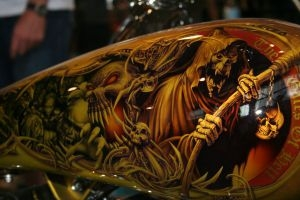 Airbrush Custom on Tank by Shownv