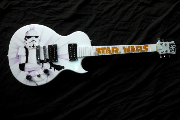 guitar starwars stormtrooper