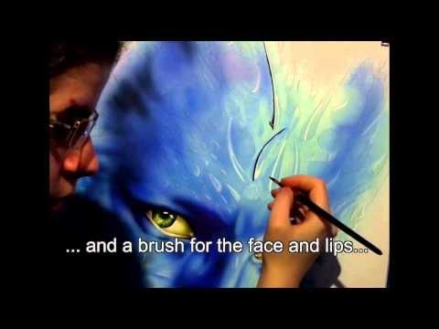 Lernvideos Trailer - Nomen Inextinctum by Clarisse Pico - Airbrush Videos