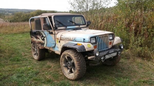 Wrangler Jeep Airbrush