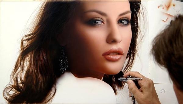 #Master Dru Blair - Superb Airbrush teqnique