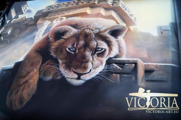 Victoria Airbrush Art