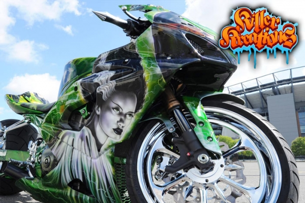 Killer Kreations Inc | Art Studio Custom Car Show Nationals Air Brush Competition
