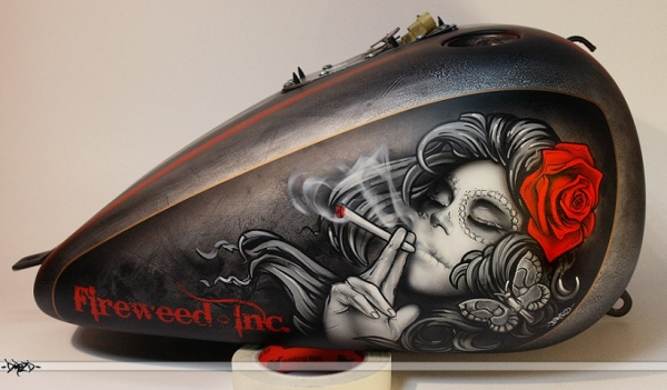 Stunning Airbrush artworks - Aerograf.pl - Motocykle/Motorcycles - Favorite Art