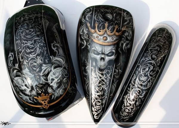 Airbrush Style on Aerograf.pl - Motocykle/Motorcycles