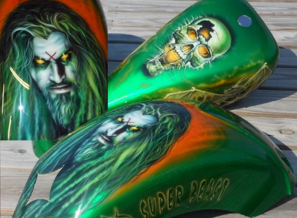 Rob Zombie Bike - Custom Paint Motorcycles
