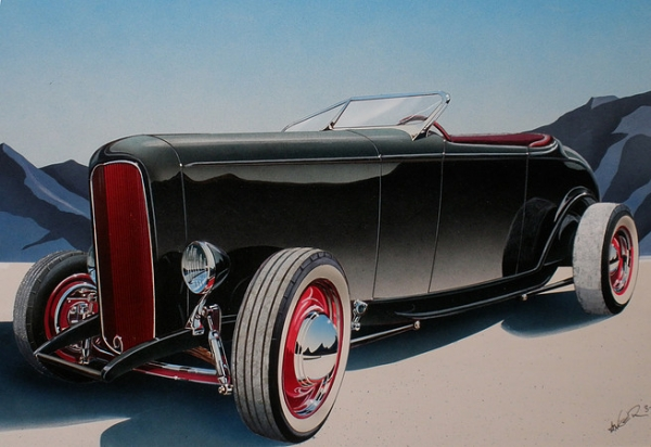 Hot Rod and Classic Cars - Favorite Art