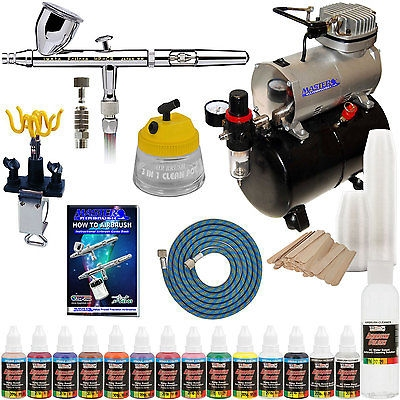 Iwata HP-CS Eclipse Airbrush System Kit Compressor Airbrush Paint Set - Things To Buy