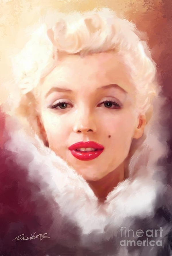 Marylin Monroe Mixed Media by Rico Kohlstedt