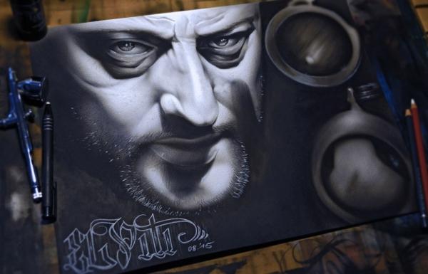 Wall Murals / Canvases   El Piti - Künstler und Illustrator für Airbrush, Graffiti und Digital Artwork in Hannover / Deutschland