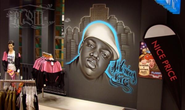 Wall Murals / Canvases | El Piti - Künstler und Illustrator für Airbrush, Graffiti und Digital Artwork in Hannover / Deutschland