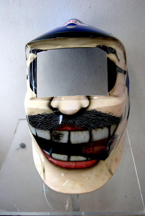 masque de soudeur