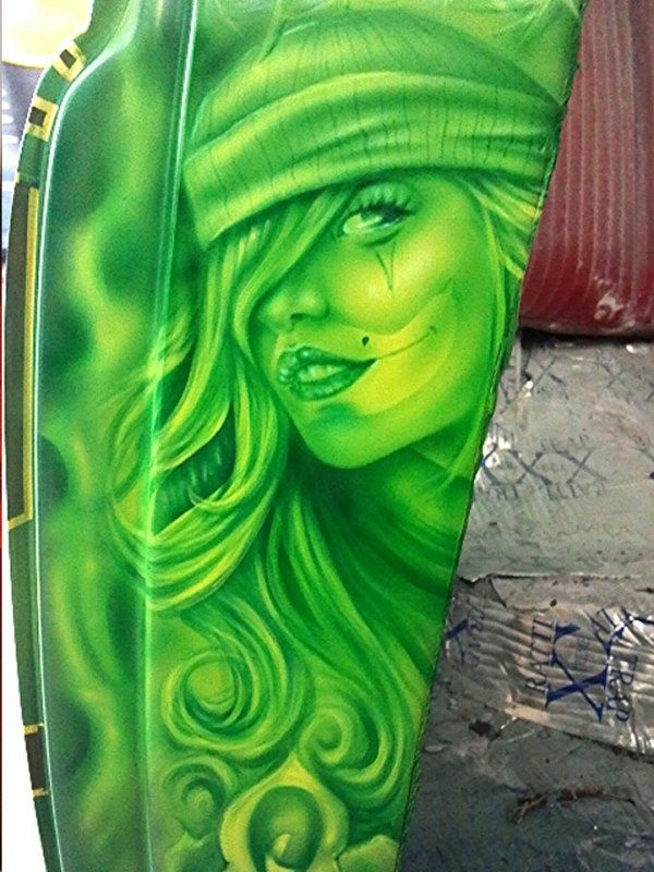 B Street Paint Works-Home of the Automotive Tattoo - Kustom Airbrush