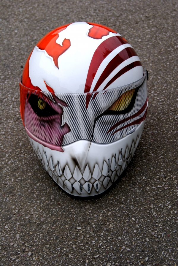 bleach helmet custom