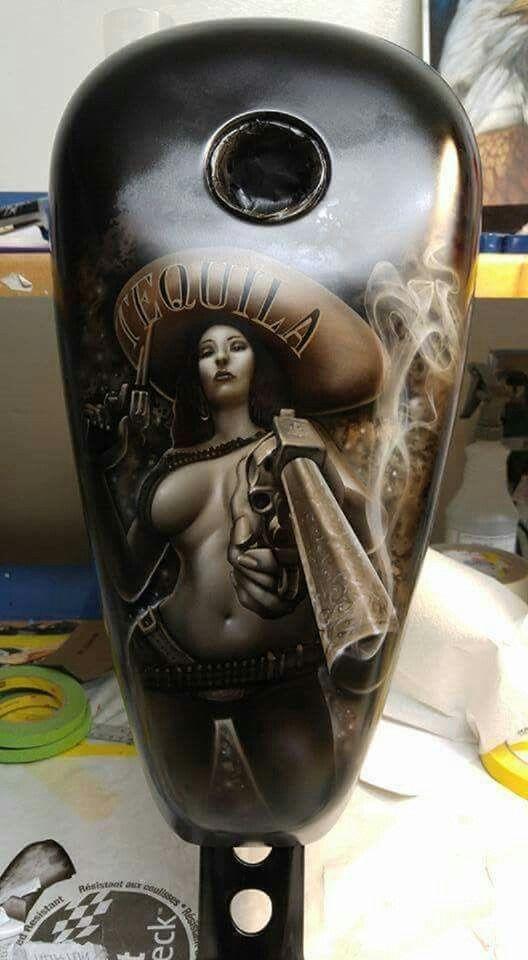 Custom Tank - Tequila - Favorite Art