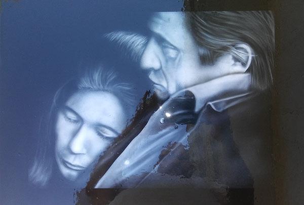 Johnny Cash and June Zimmer DesignZ custom paint shop houston Texas - Zimmer DesignZ - Airbrush Artwoks