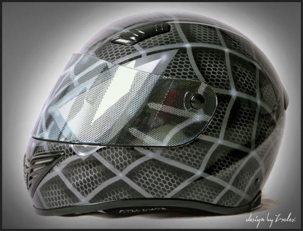 Spyde Helmet - Airbrush Artwoks