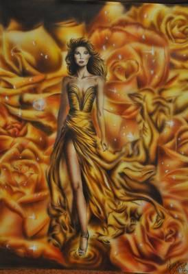 """Phoenix Woman"" Schoellershammer 70cm x 50cm"
