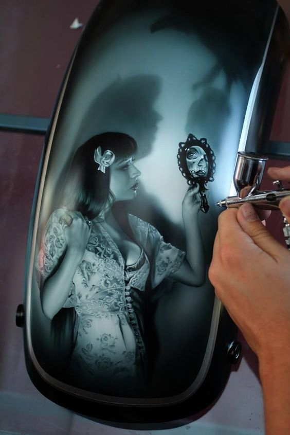 You can do it. Airbrush is Art.#artekaos cit. - My Favorite on JustAirbrush
