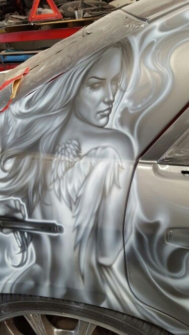 Tuning Cars and Airbrush - #TopCars