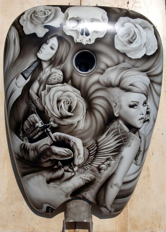 Search for Airbrush Ideas? Discover JustAirbrush - Favorite Art