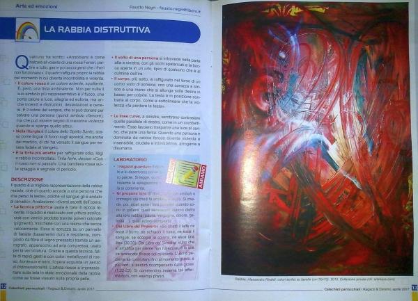 """Da uno che si fa chiamare """"ArteKaos"""", essere pubblicato su una rivista religiosa suona un pò strano..."""