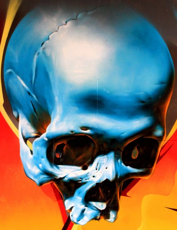 Skull color reflections